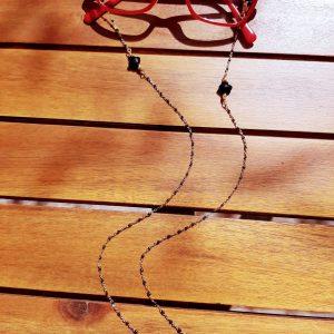 Chaîne de lunettes Black Star